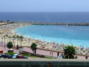 amadores beach strand